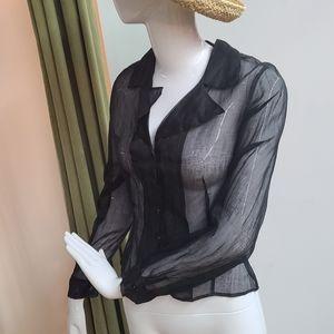 Anne Fontaine Organza Shirt
